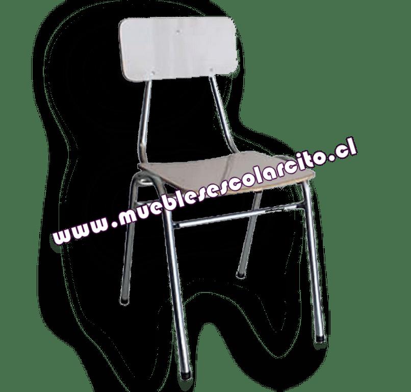 Silla de Restaurant Zincada