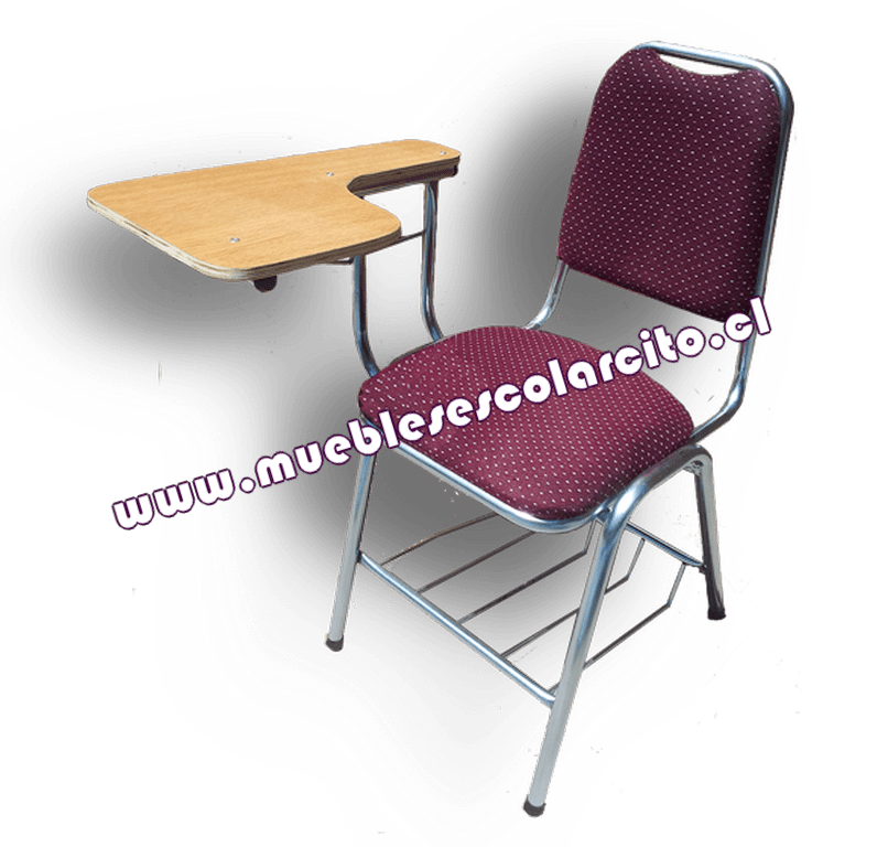 venta silla universitaria pintada muebles escolarsito