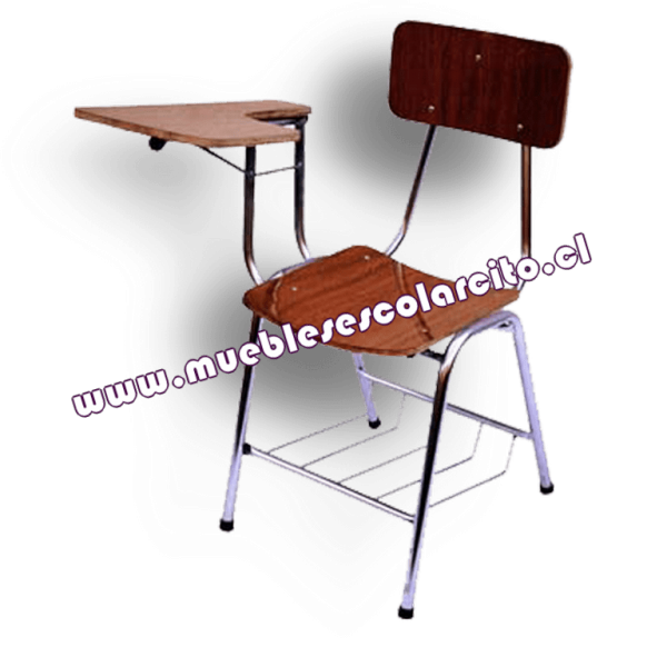 Venta silla universitaria zincada muebles escolarsito for Sillas universitarias